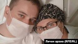 Кети Виденлиева и синът ѝ Тодор