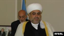 Аллашүкір Пашазаде, Кавказ мұсылмандары діни басқармасының басшысы. Баку, 15 қыркүйек 2005 ж.