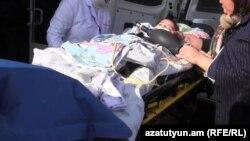 Шестимесячный Сережа Аветисян – единственный выживший при нападении российского солдата