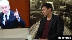 Оппозиционный кандидат Дмитрий Гудков