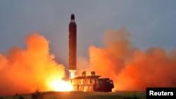 Ispaljivanje balističke rakete, Sjeverna Koreja, datum nepoznat