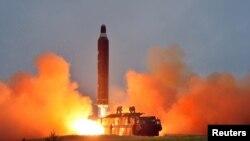 Түндүк Кореяда ракета сыноосу.