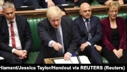 Борис Джонсон в парламенте, 19 октября 2019 года