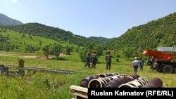 Жазы-Кечүү айылы. 6-июнь, 2020-жыл.