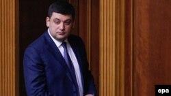 Владимир Гройсман, спикер Верховной Рады Украины.
