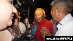 Депутат парламента Кыргызстана Нариман Тулеев, арестованный по обвинению в коррупции.