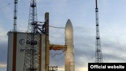 Ariane 5 на стартовой площадке