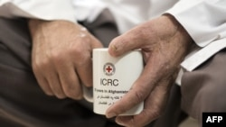 Mir Afghan, șeful centrului ortopedic al Crucii Roșii internaționale de la Gulbahar, 14 ianuarie 2014