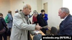 Пасьля сустрэчы: дыскусія выбарцы з Уладзімерам Кацорам
