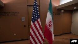 د امریکا او د ایران ګډ بیرغونه