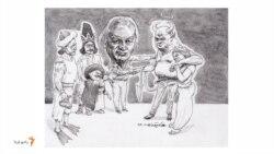 چلوکباب سلطانی برای ابلیس در مهمانی نورالدین زرینکلک