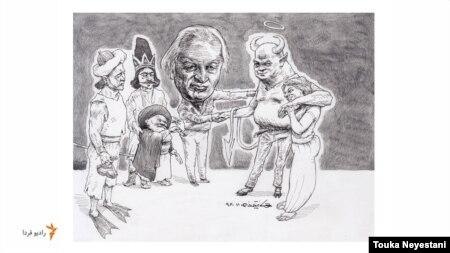 نورالدین زرینکلک و مهمانانش/ کاری از توکا نیستانی
