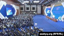 Курултай Всемирной ассоциации казахов в казахстанской столице. 23 июня 2017 года.