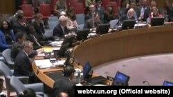 ՄԱԿ-ի Անվտանգության խորհուրդը քվեարկում է Սրեբրենիցայի վերաբերյալ բանաձևի նախագիծը, Նյու Յորք, 8-ը հուլիսի, 2015թ․