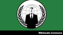Один из флагов, которые использует хакерская группа Anonymous