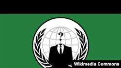 Флаг организации Anonymous