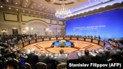 گفتوگوهای صلح سوریه در شهر آستانه، پایتخت قزاقستان