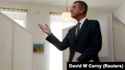 Չեխիայի ֆինանսների նախկին նախարար Անդրեյ Բաբիշ, Պրահա, 20-ը հոկտեմբերի, 2017 թ․