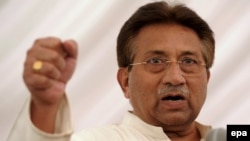 Former Pakistani military ruler Pervez Musharraf (file photo)