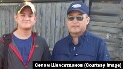 Отец и сын Рамиль (слева) и Салим (справа) Шамсутдиновы
