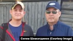 Отец и сын Рамиль (слева) и Салимжан (справа) Шамсутдиновы