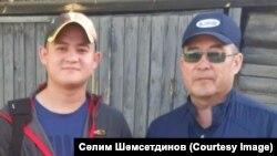 Аталы-уллы Рамил (с) һәм Сәлимҗан (у) Шәмсетдиновлар