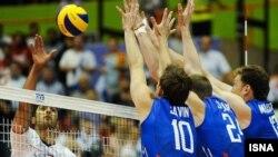 Волейбольный матч Иран – Россия