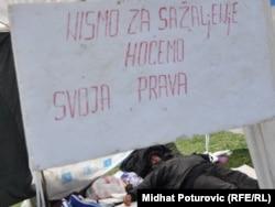 Protest radnika Vitezita, mart 2011.