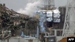 Кучли зилзила оқибатида ядровий фалокат рўй берган Фукусима Дайичи АЭС, 2011 йил 16 март.