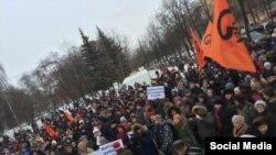 Митинг за прямые выборы мэра в Ярославле