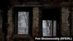 Photogallery: Destruction, And Signs Of Renewal, In Debaltseve
