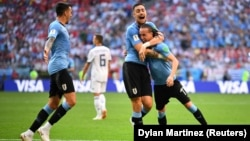 Уругвайцы провели блестящий матч