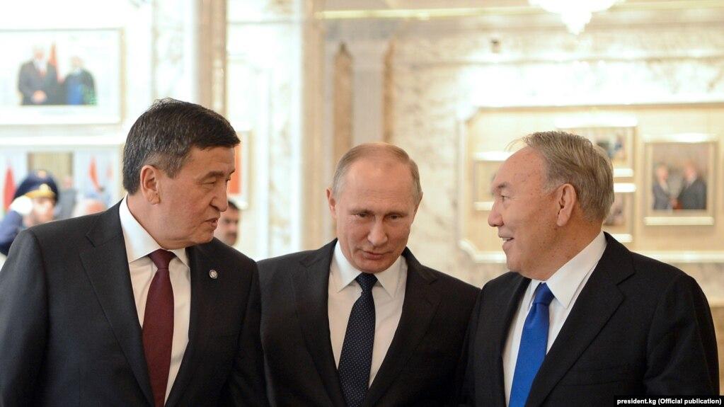 Жээнбеков Казакстанга жана Орусияга барат