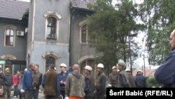 Nastavljeni protesti, traži se isplata dugovanja: Rudari u Zenici