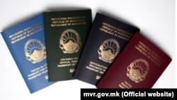 Македонски пасош