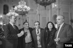 Юрий Яковлев, Армен Джигарханян, Азамат Абдулин, Мария Рахманова и Владимир Этуш