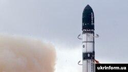 Запуск української ракети-носія типу «Дніпро» (архівне фото)