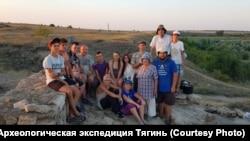 Участники археологической экспедиции «Тягин-2020»