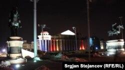 Скопје 2014, ноќе свети во разни бои