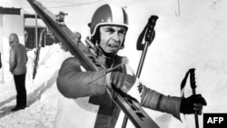 Карл Шранц в Саппоро 29 января 1972, незадолго до дисквалификации
