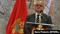 Montenegrin Foreign Minister Srdjan Darmanovic (file photo)