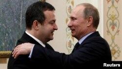 Ивица Дачич и Владимир Путин. Апрель 2013 года