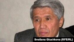 Гражданский активист Серикбай Алибаев.