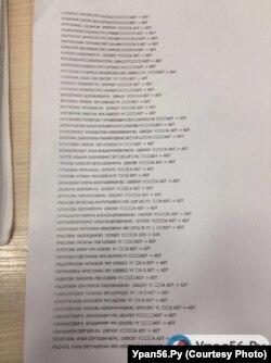 Список погибших пассажиров Ан-148