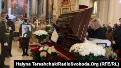 Молебень і прощання з Маестро відбулися в Святоюрському соборі у Львові
