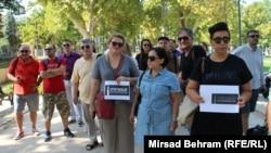 Protest novinara u Mostaru, 28. avgust