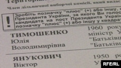 По данным exit-поллов - опросов избирателей на участках после голосования - лидирует Виктор Янукович