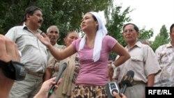 Жендеттер қолынан қаза тапқан Айдын Халықовтың қарындасы Толқын Халықова