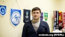 У офісе галоўнага трэнэра ФК «Прамень» Івана Біёнчыка