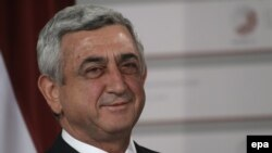 Президент Армении Сержа Саргсян (архив)